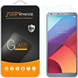 [2-Pack] Supershieldz for LG G6+ / LG G6 Plus Tempered Glass Screen Protector, Anti-Scratch, Bubble Free, Lifetime Replacement Warranty