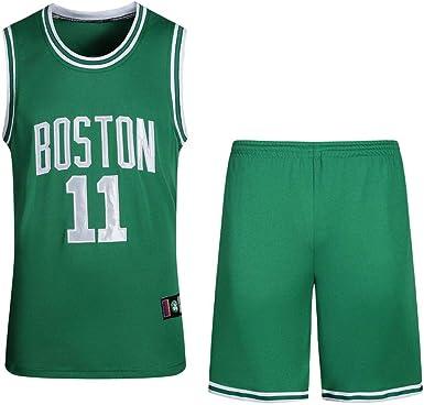 BEOOKEK Camisetas Deportivas De Baloncesto para Hombre ...