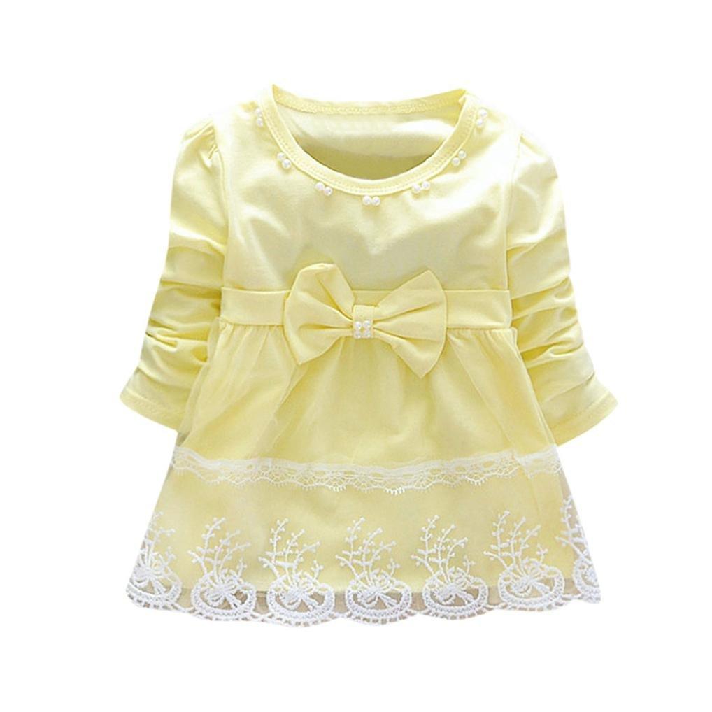 UOMOGO® Ragazzé belle Princess Dress compleanno partito Dress Ball abito costume 3 a 24 Mesi