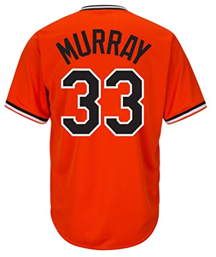 d265cdf6460 Eddie Murray Baltimore Orioles Cool Base Cooperstown Orange Jersey (Small)
