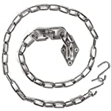 Chihee Hanging Kits Hammock Chair Hardware 440lbs Swing Hooks with 1 Meter/3.28ft Stainless Steel Chain Swivel Buckle…