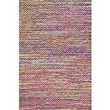 nuLOOM 200VIAG01A-305 Area Rug, 3' x 5', Magenta