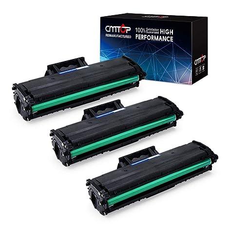 CMTOP 3 paquetes de cartuchos de tóner negro de alto rendimiento ...