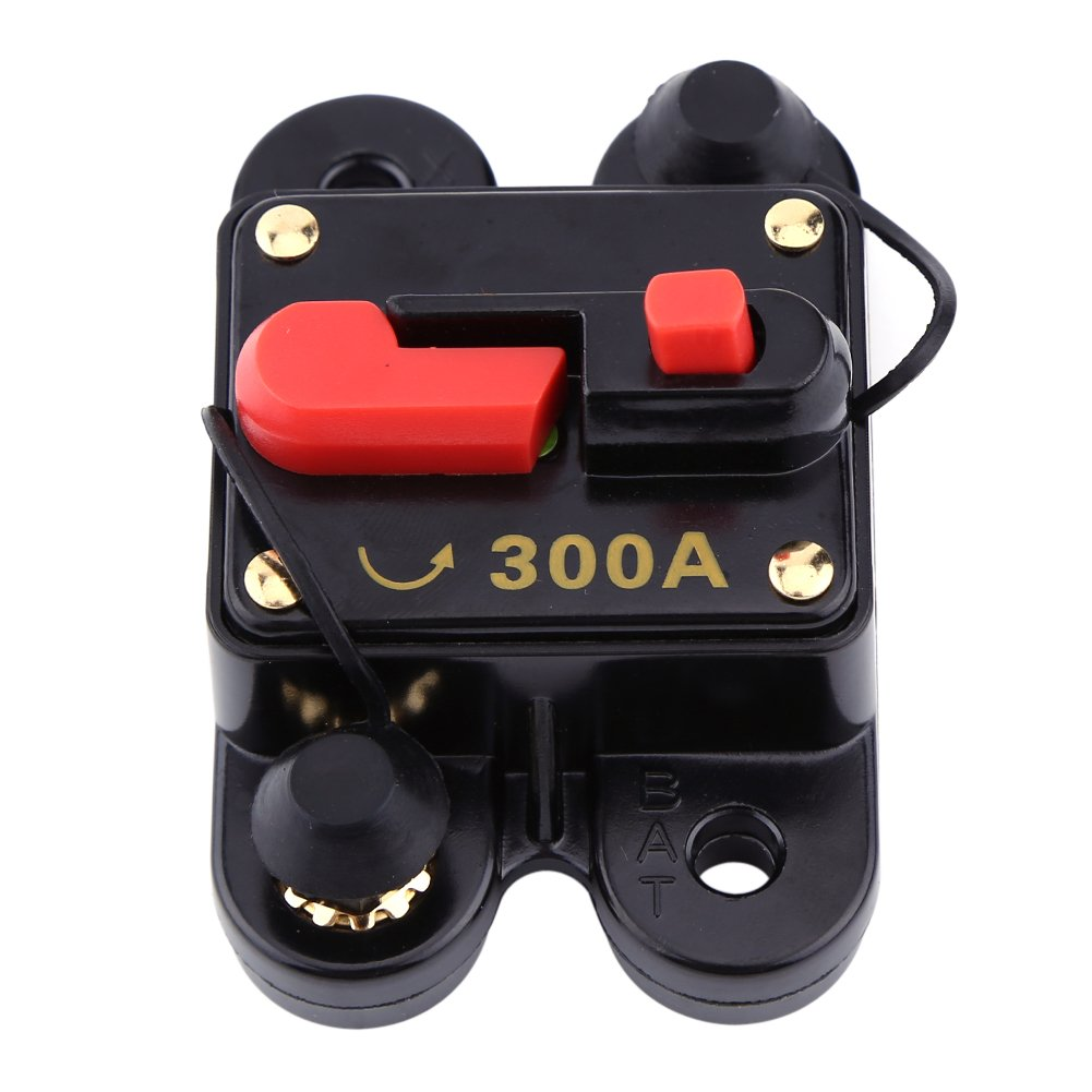 50A-200A Manual Reset Circuit Breaker 12v//24v Car Auto Boat Audio Stereo Fuse UK