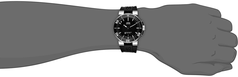 Oris Men s 73376534154RS Analog Display Swiss Automatic Black Watch