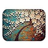 HOMEE Carpet-the Living Room Floor Mat Bedroom Mat Coral Fleece Printing,8,4060Cm,4060Cm,14