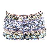 #9: Universal Textiles Womens/Ladies Aztec Pattern Summer Beach Shorts
