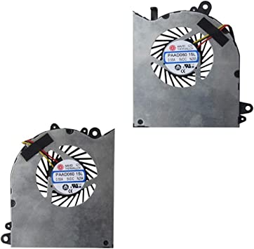 MSI GS60 series GPU Cooling Fan Laptop cooler PAAD06015SL 0.55A  5VDC N29 New