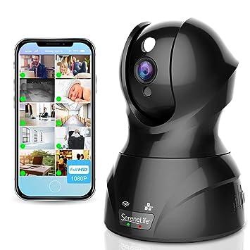 Interior Inalámbrica IP Cámara – HD 1080p red seguridad vigilancia hogar vigilancia con detección de movimiento