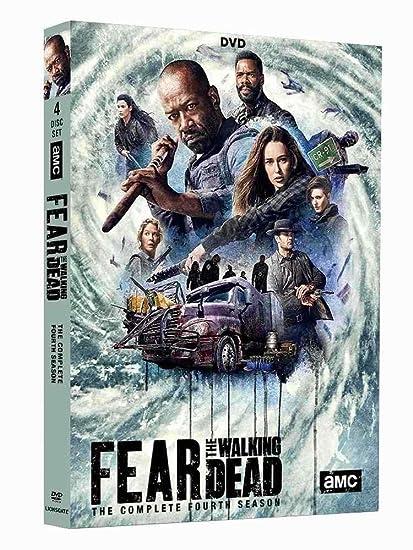 Amazon.com: Fear The Walking Dead Season 4 (2018, 4-Disc DVD Set ...