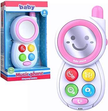 Baby pur Telefono Giocattolo per Bambini, con Effetti sonori