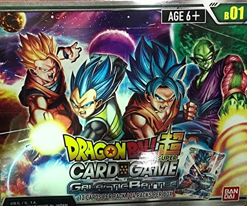 Dragon Ball Z Super Galactic Battle TCG Booster Display Box English by DBZ