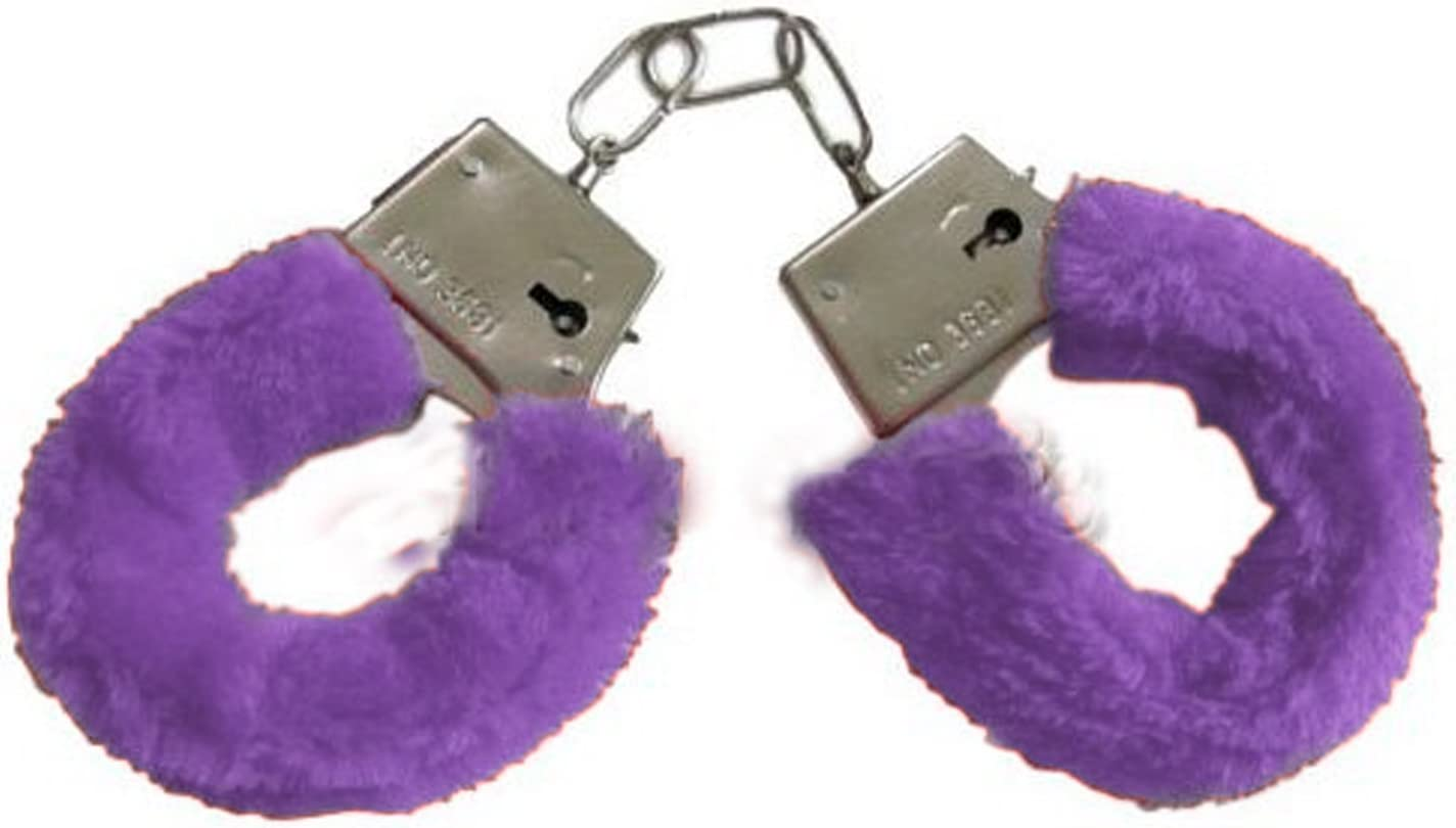 WHUANZ Purple Silicone New Binding Handcuffs Smooth and Comfortable