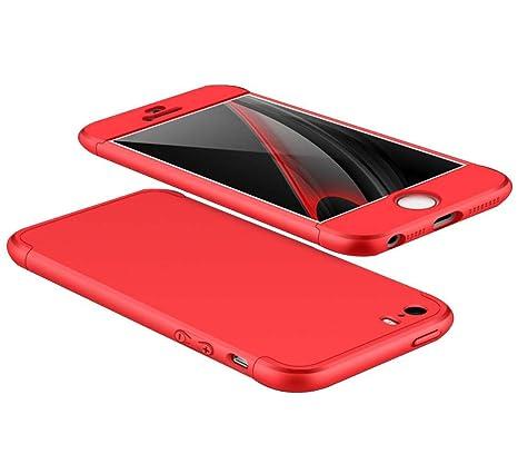 coque rouge 360 iphone 5