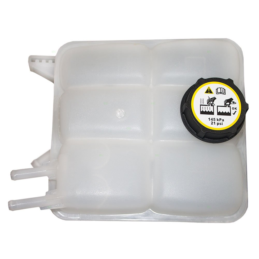 Coolant Overflow Tank Recovery Bottle Expansion Reservoir with Cap Replacement for Mazda 3 2.0L 2.3L LF8B15350B