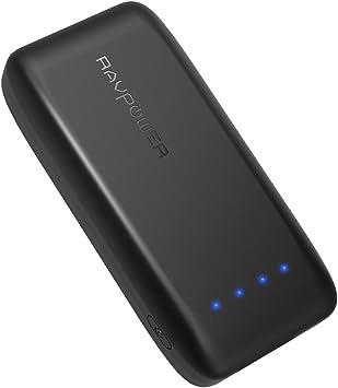 RAVPOWER Batería Externa 6700mAh,Power Bank Tecnología iSmart 2.0 ...