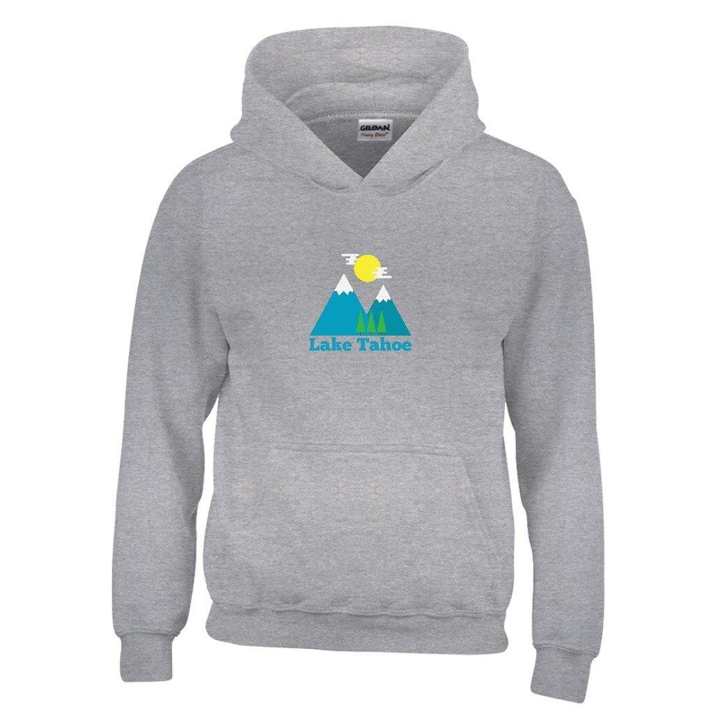 Lake Tahoe Bluebird Day Youth Hoodie California Kids Sweatshirt
