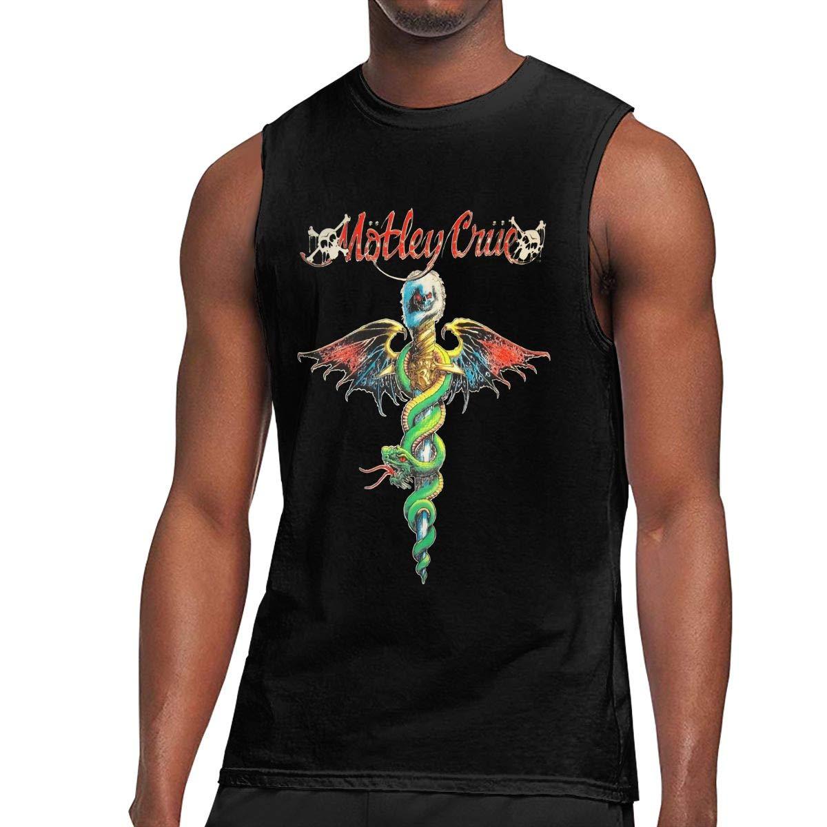 Crue T Shirt Man Ultra Tee Sleeveless T Shirt Fashion Top Tank Top Tee 4503