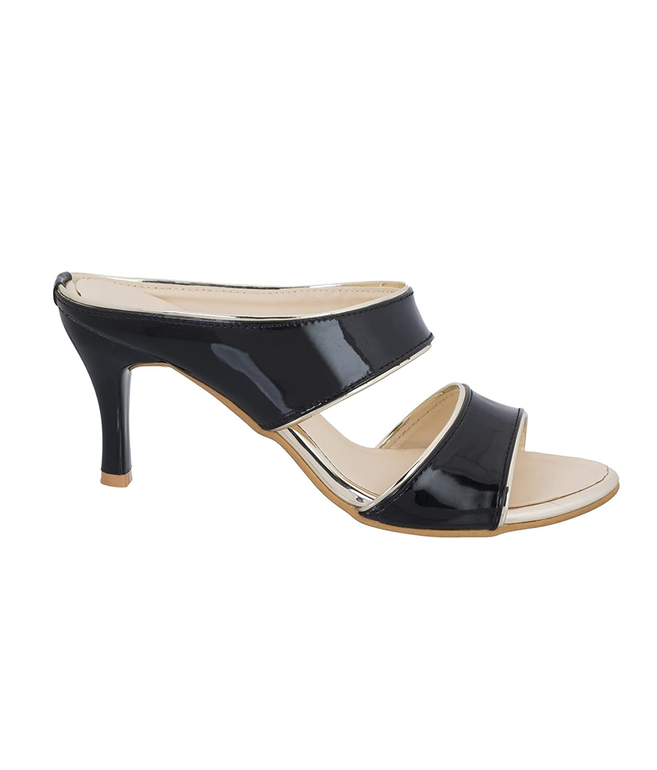 aa6afc8a8c1 Juti Kasoori Sandal for Women Casual Stylish Heel Sandals Latest Arrival  Party Wear Casual Wear Sandals for Women   Girls  Buy Online at Low Prices  in India ...