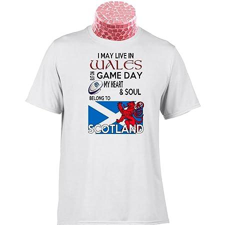 Escocia Rugby camisa camiseta de regalo, puedo vivir en mandos en ...