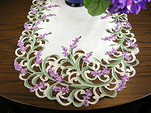 - Embroidered Table Runner Dresser Scarf 43