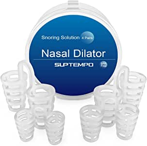 Dilatador Nasal Anti Ronquidos - SUPTEMPO Solución Premium Anti Ronquidos (8 Pairs)
