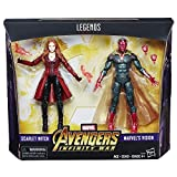 #7: Marvel Legends Series Scarlet Witch and Vision Infinity War Figure 2-Pack