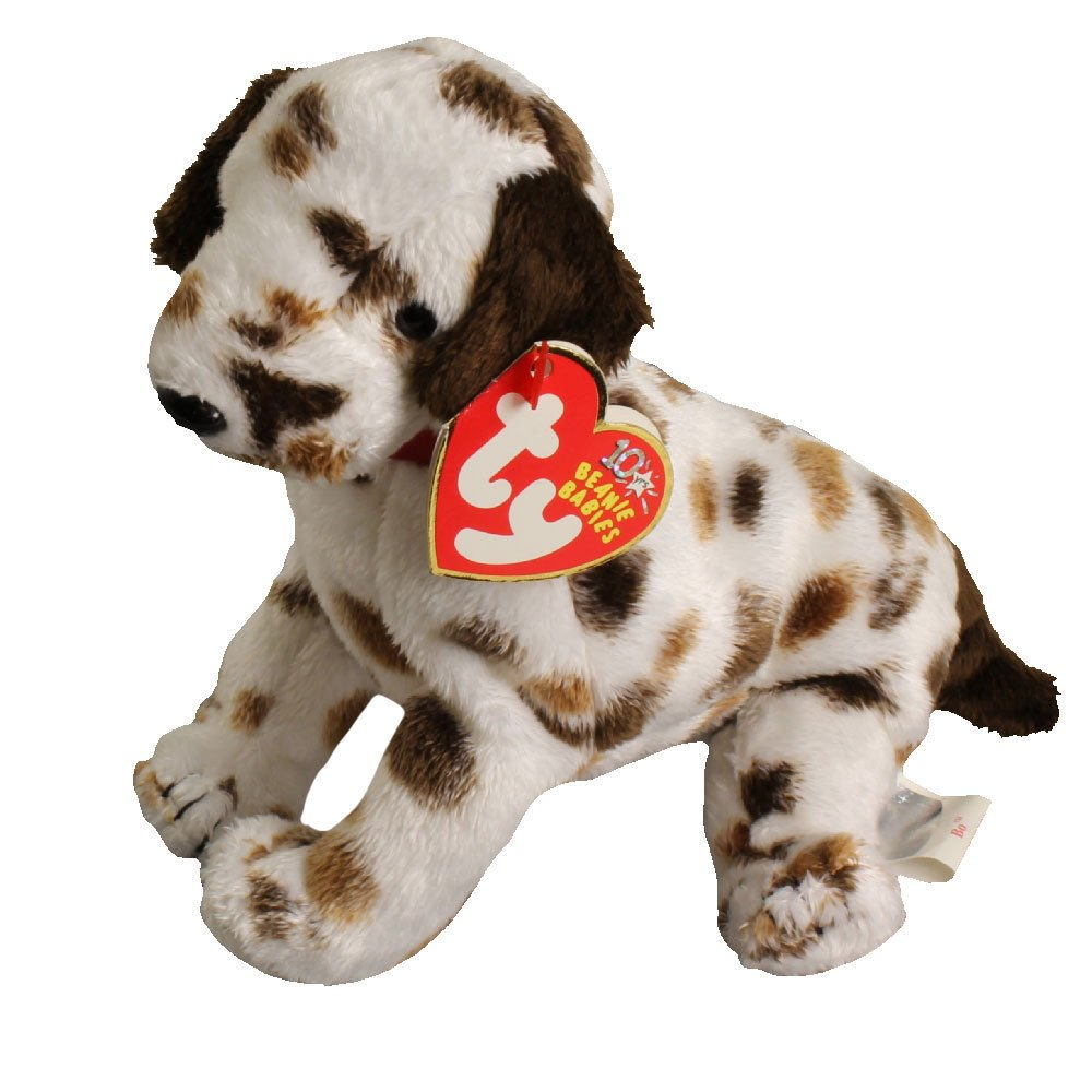 056fe12a11d Amazon.com  TY Beanie Baby - BO the Dalmatian Dog (6 inch) - MWMT s Stuffed  Animal Toy  Toys   Games