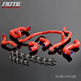Coolant Silicone Radiator Hose Kit Clamps For BMW E30 M20 325 325i 6cy 1988-1993