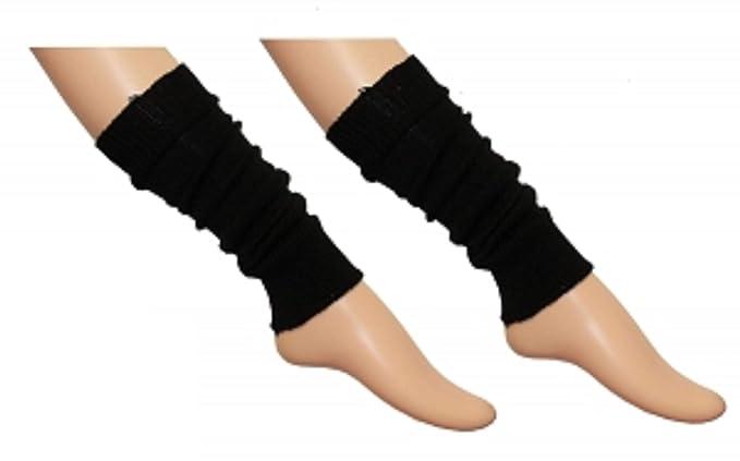GIRLS TEEN 80/'S DANCE PLAIN RIBBED LEG WARMERS WOMEN LEGWARMER FANCY DRESS TUTU