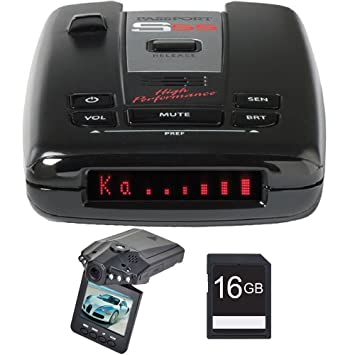 Amazon.com : Escort Passport S55 Radar & Laser Detector w/ HD Dash Cam & 16GB SD Card Bundle : Everything Else