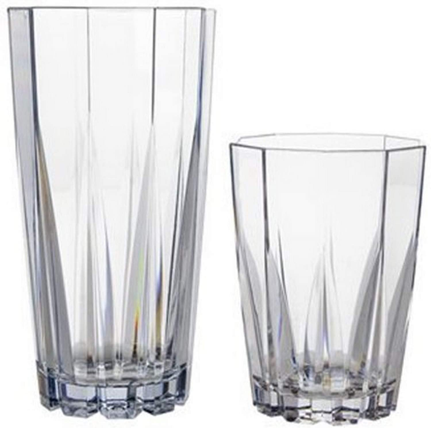 CreativeWare Solutions 12 Piece Unbreakable Tumblers
