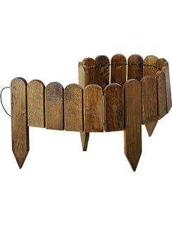 Bordure de jardin en bois à planter Stackette: Amazon.fr: Jardin