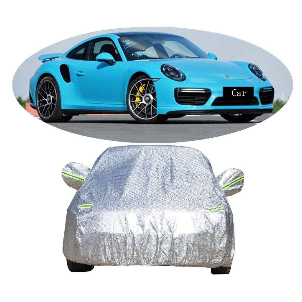 Cubierta de coche Compatible con Porsche 911 Engrosamiento de autos deportivos Ropa para autos Cubierta para autos Protector solar Aislante contra la lluvia Cubierta para autos a prueba de polvo