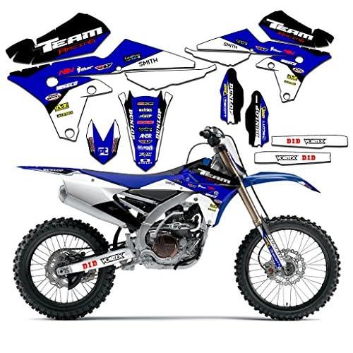 Team Racing Graphics kit for 2000-2008 Yamaha TTR 90, EVOLV