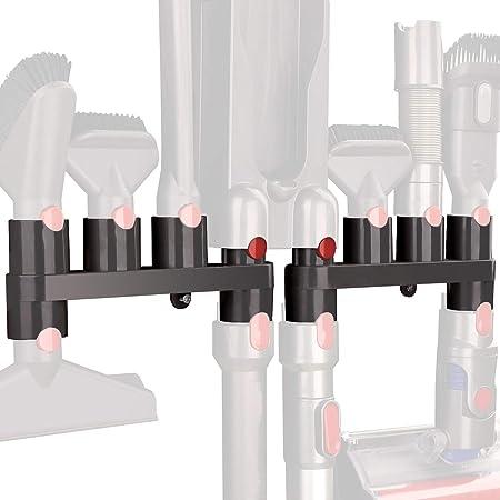 HUACITY Docks - Soporte para Accesorios para aspiradora Dyson V11 V10 V8 V7 (10 enchufes de Almacenamiento, 2 Unidades): Amazon.es: Hogar