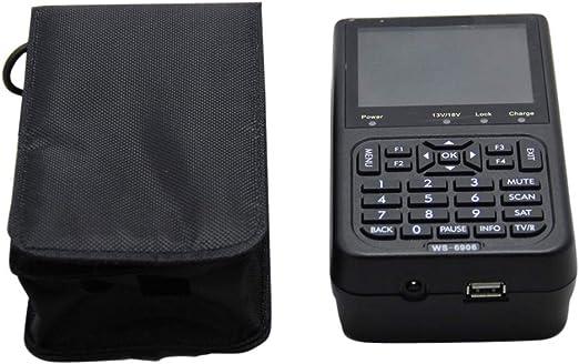 BENPAO Detector de señal, buscador de señal satelital Medidor de señal satelital Medidor de señal satelital para familias/Exteriores/Salvajes: Amazon.es: Hogar
