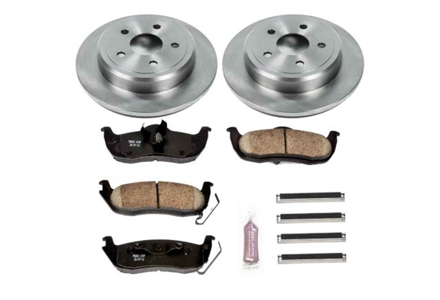 Autospecialty KOE2221 1-Click OE Replacement Brake Kit