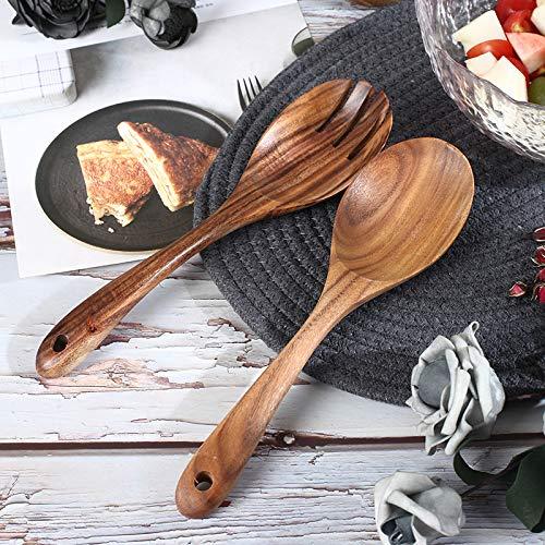 Wooden Salad Servers Wooden Spoons Salad Fork