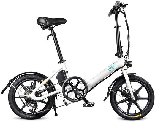 Bicicleta eléctrica Plegable FIIDO D3s 7.8, batería incorporada ...