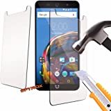 Spyrox - Archos 50 Power (5.0 inch) Protection Glass Armor Protective Film Screen Protector Tempered Glass Anti Scratch Laminated Glass - 2 Pack