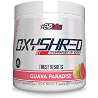 OxyShred Thermogenic Fat Burner by EHPlabs - Weight Loss Supplement, Energy Booster, Pre-Workout, Metabolism Booster…