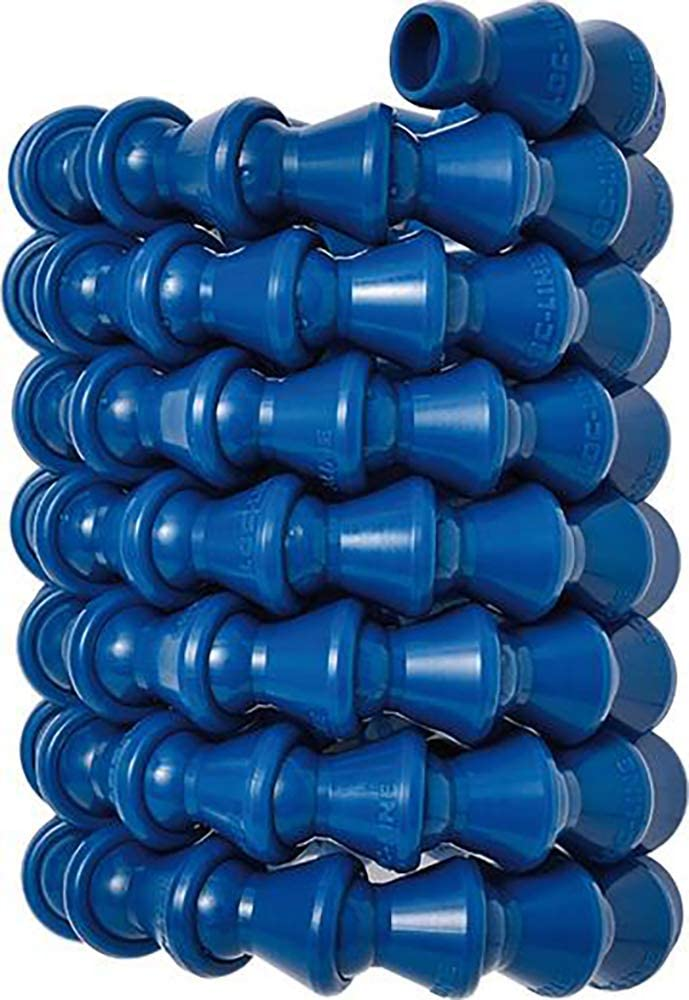 """Loc-line Blue 1/4"""" 5 Foot Coil Made in the USA Original Modular System"""