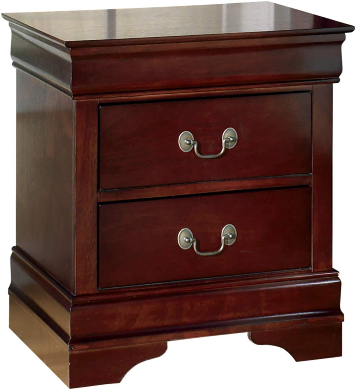 Ashley Furniture Signature Design – Alisdair Nightstand – 2 Drawers – Traditional – Rectangular – Dark Brown