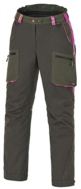 Pinewood Wolf Ladies Caza Pantalón Moss Green, Moosgrün/Realtree Ap ...