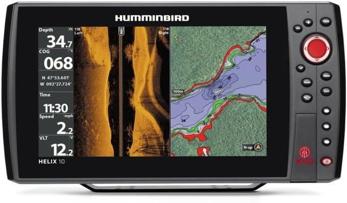 Humminbird Helix 10 SI GPS KVD Finders