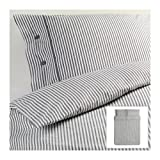 Ikea Nyponros Duvet Cover and Pillowcases, Full/queen, Gray
