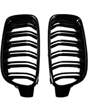 XCSOURCE Front Sport Wide Kidney Grilles Black for BMW 3 Series F30/F35 2012-2016 MA1785