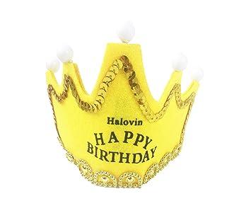 Amazon.com: Halovin - Gorro de fiesta favorito, feliz ...