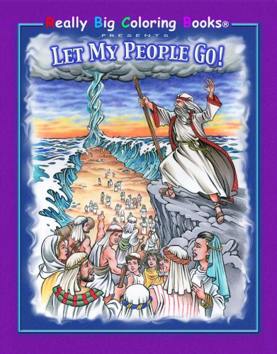 Let My People Go - Oversized Coloring Book